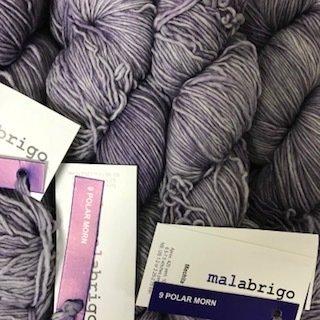 Malabrigo Hand dye Mechita Yarn Polar Morn #9