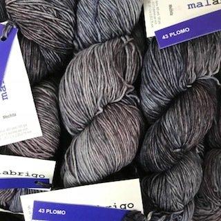 Malabrigo Hand dye Mechita Yarn Plomo #43*