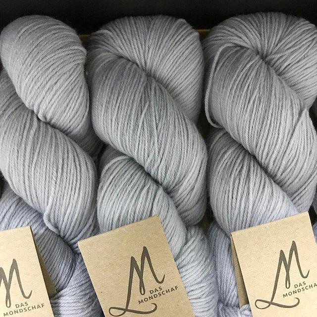 Das Mondschaf Merino Sock Silver