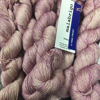 Malabrigo Silkpaca Pink Frost #17