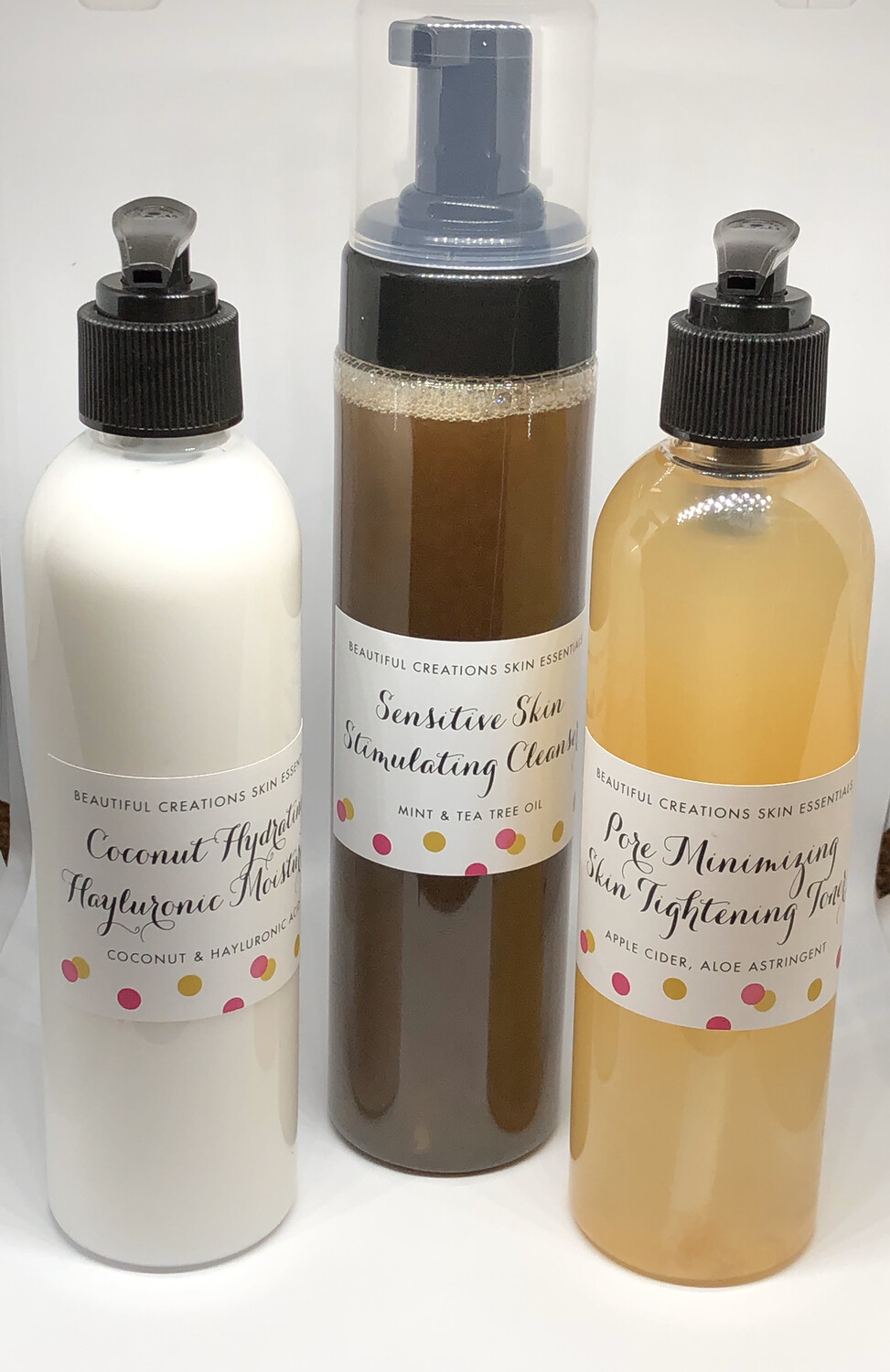 Beautiful Creations Skin Essentials  3pc. System 8 oz. (5-6 Months Supply)