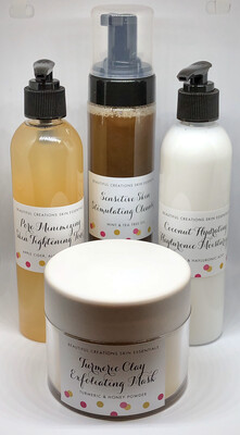 Beautiful Creations Skin Essentials 4pc. System 8 oz. (5-6 Months Supply)