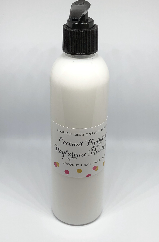 Coconut & Hayluronic Serum  Hydrating Moisturizer 8oz. (240ml)