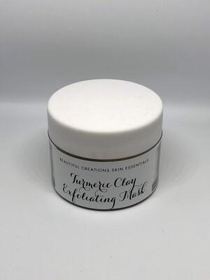 Turmeric Clay Exfoliating Mask 4oz. (120ml)