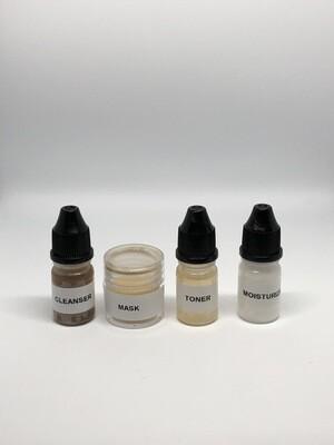 Skin Essentials Sample Facial System 4pc