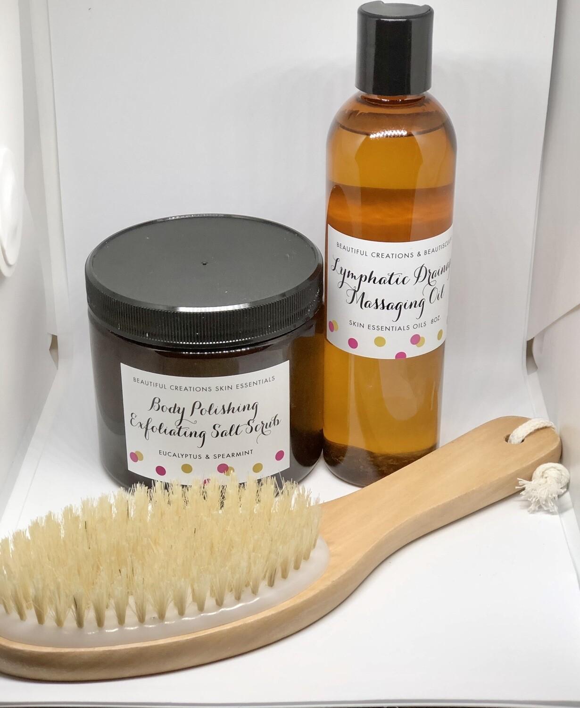 Dry Brushing 3pc Kit