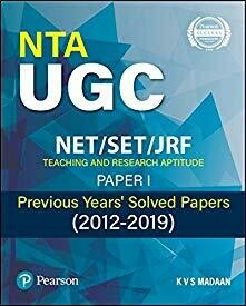 """""""NTA UGC  NET/SET/ JRF Paper 1 