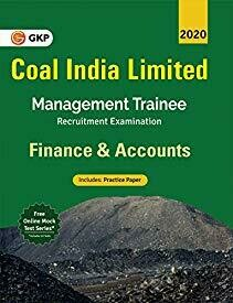 """Coal India Ltd. 2019-20: Management Trainee - Finance & Accounts"""