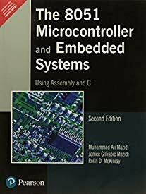 """""""The 8051 Microcontroller and Embedded Systems: Using Assembly and C"""""""
