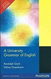 """A University Grammar of English, 1e"""