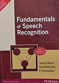 Fundamentals of Speech Recognition, 1e