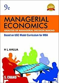 Managerial Economics by H. L. Ahuja