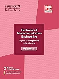 ESE 2020: Preliminary Exam: E &T Engineering Objective Paper - Vol. 1
