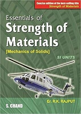 Essentials of Strength of Materials by R K Rajput