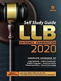 Self Study Guide for LLB Entrance Examination 2020