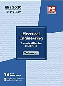 ESE 2020: Preliminary Exam : Electrical Engineering Objective Paper - Volume II​: Vol. 2