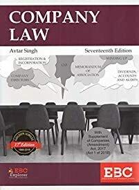 Company Law by Avtar singh