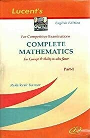 Complete Mathematics (Part-1)