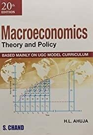 Macroeconomics by Ahuja H.L