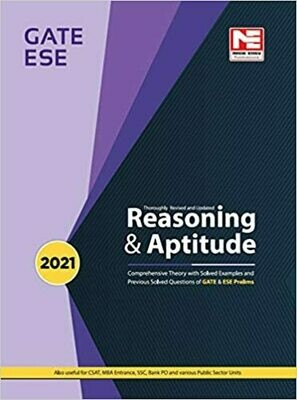Reasoning & Aptitude for GATE  2021 and ESE 2021 (Prelims) - Theory and Previous Year Solved Papers