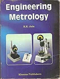 Engineering Metrology by r k jain