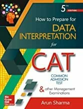 How to Prepare for Data Interpretation by renowned author Arun Sharma Paperback – 16 November 2017