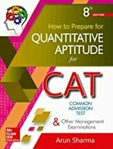 How to Prepare for Quantitative Aptitude for the CAT                        Paperback by Arun Sharma
