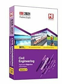 ESE 2021 Preliminary Exam : Civil Engineering Objective Paper - Volume II by MADE EASY: Vol. 2
