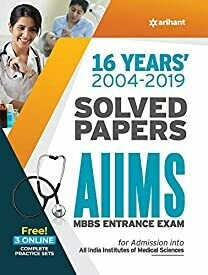 16 Years' Solved Papers AIIMS MBBS