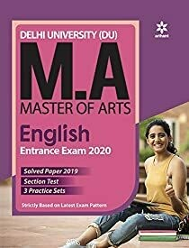 Delhi University  MA English Guide 2020