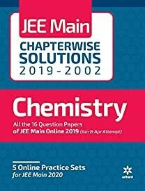 17 Years' Chapterwise Solutions Chemistry JEE Main 2020