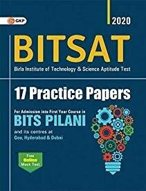 BITSAT 17 Practice Papers