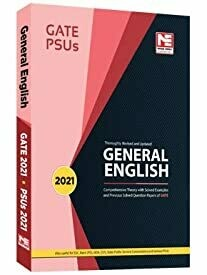General English for GATE 2021 and PSUs 2021 -Theory and Previous Year Solved Papers