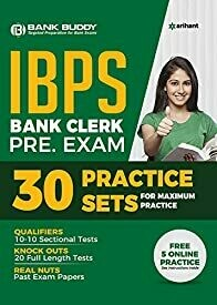30 Practice Sets IBPS Bank Clerk Pre Exam 2019