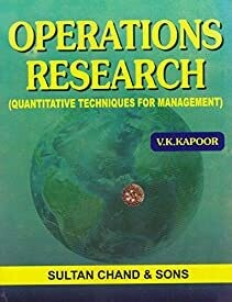 Operation Research  by Sumant Kapoor, Vk Kapoor