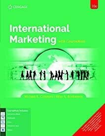 International Marketing with CourseMate