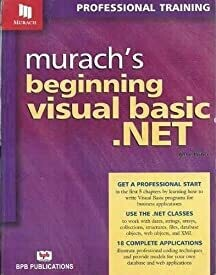 Murach's Beginning Visual Basic.NET by Anne Prince