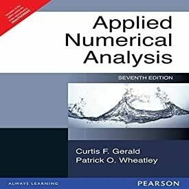 Applied Numerical Analysis (7th ED) by Gerald
