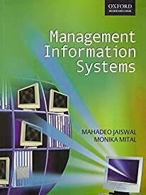 Management Information Systems by M.P. Jaiswal, Monica Mittal