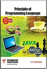 Principles of Programming Language for AKTU (V-CSE/CE&IT/IT-2013 course)