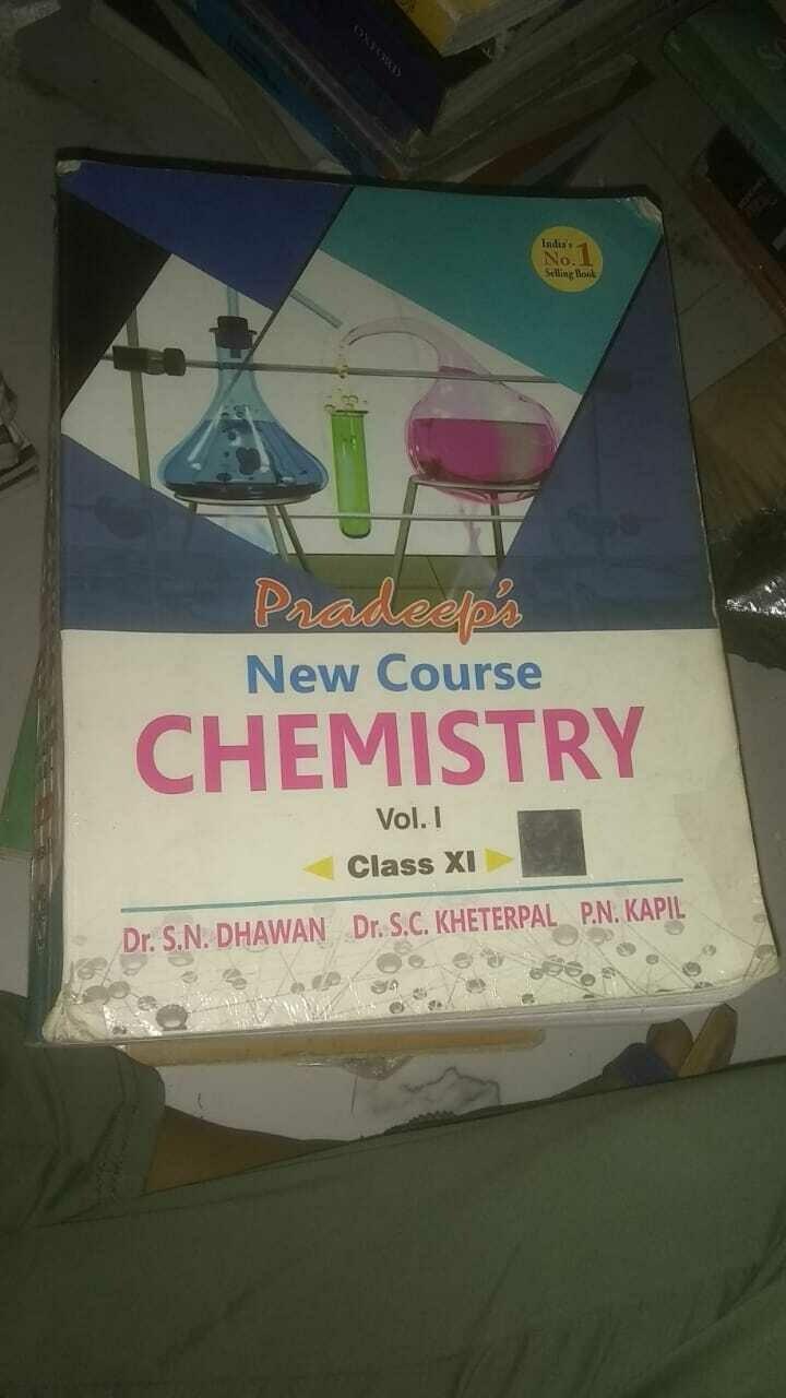 Pradeep's chemistry vol-l & ll by S. N Dhavan, kheterpal