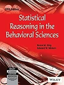 Statistical Reasoning in the Behavioral Sciences, 5ed