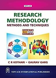 Research Methodology : Methods And Techniques by C.R. Kothari and Gaurav Garg