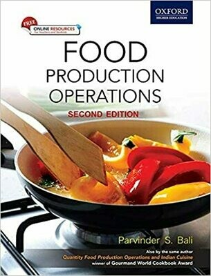 Food Production Operations 2E by Parvinder Bali