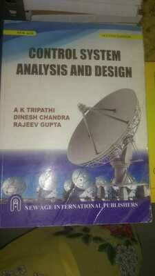 Control System Analysis and Design by A.K. Tripathi