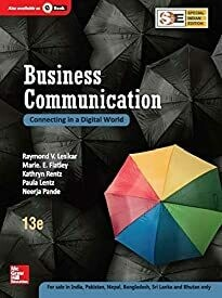 Business Communication (SIE): Connecting in a Digital World by V. Raymond Lesikar