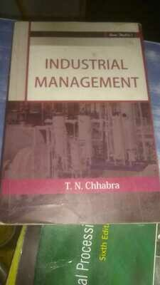 Industrial Management by T.N Chabra