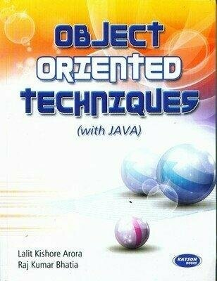 Object Oriented Techniques with Java