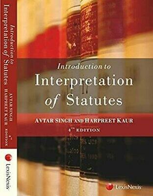 Introduction To The Interpretation Of Statutes