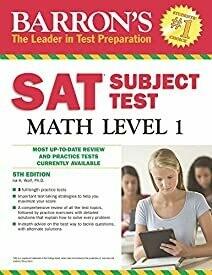 Barron's SAT Subject Test Math Level 1